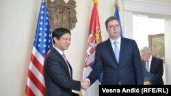 Dvojica zvaničnika razgovarali su o bilateralnim odnosima i evropskim integracijama regiona