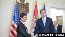 Aleksandar Vučić još uvek ne odgovara na ocenu Hojt Brajana Jia