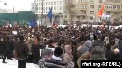 """""""Марш супраць нягоднікаў"""" у Маскве, 13 студзеня 2013"""