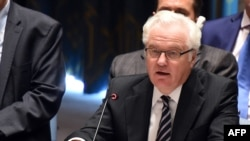 Russian Ambassador to the United Nations Vitaly Churkin said Bosnia should not be pushed in the EU's direction.