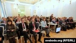 «Кастрычніцкі эканамічны форум» у Менску. Менск. 4 лістапада 2015 году