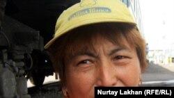 Сәуле Қошанқызы, теміржолшы. Алматы, 18 тамыз 2011 жыл.