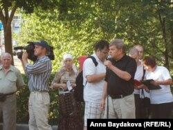 Сергей Митрохин поддержал активистов Измайлова.