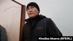 Кастер Мусаханулы, этнический казах из приграничного китайского региона Синьцзян, в суде. Зайсан, 6 января 2020 года.