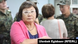 Gyrgyzystanyň ozalky prezidenti Roza Otunbaýewa