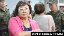 "Former Kyrgyz Presient Roza Otunbaeva: ""I think history will assess all of this."""