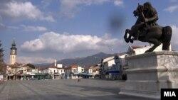 Илустрација - Полициски час во Прилеп