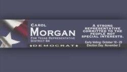 تبلیغات انتخاباتی آمریکا؛ کارول مورگان