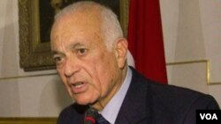 Arab League chief Nabil al-Arabi (file photo)