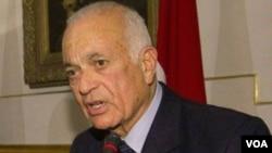 Arab League chief Nabil al-Arabi (file photo)