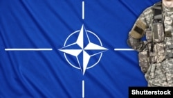 Generic -- NATO emblem with soldier