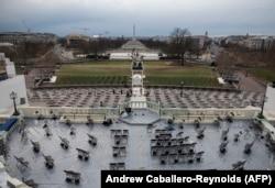 آمادگیها برای برگزاری مراسم تحلیف جو بایدن، رئیس جمهوری منتخب امریکا
