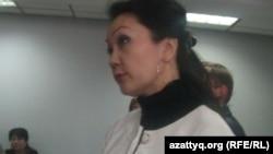 Назым Әзімбетова, Экономика университетінің карьера орталығының басшысы. Алматы, 17 сәуір 2014 жыл