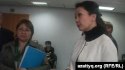 Назым Арзимбетова, начальник Центра карьеры Казахского экономического университета имени Т. Рыскулова. Алматы, 17 апреля 2014 года.