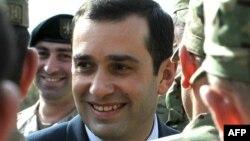 Ираклий Аласания, министр обороны Грузии.