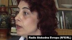 Ели Луческа, директорка на Институтот за старословенска култура во Прилеп.