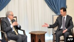 Brahimi sa Bašarom al Asadom