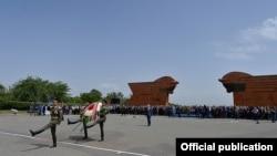 Торжества в мемориальном комплексе «Сардарапат», 28 мая 2015 г.