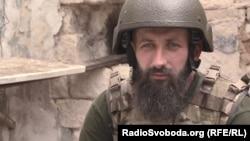 Колишній доброволець із Білорусі, військовослужбовець ЗСУ з позивним «Зубр»