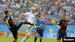 Pamje nga takimi Gjermania - SHBA 1:0
