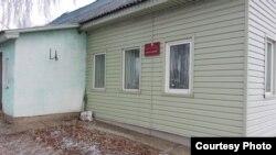 Былы будынак сельсавету ў Рудкаўшчыне