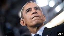 Президент США Барак Обама. 24 июля 2013 года.