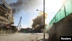 Սիրիա - Հալեպի արվարձաններից մեկում ռումբ է պայթել, 31-ը հունվարի, 2014թ․