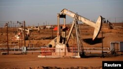 Добыча нефти в Калифорнии