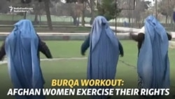 Burqa Workout: Afghan Women Exercise Their Rights
