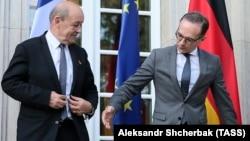 Министрите за надворешни работи на Франција и на Германија, Жан- Ив Ле Дријан и Хајко Мас