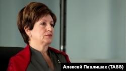 Экс-спикер парламента Севастополя Екатерина Алтабаева, архивное фото