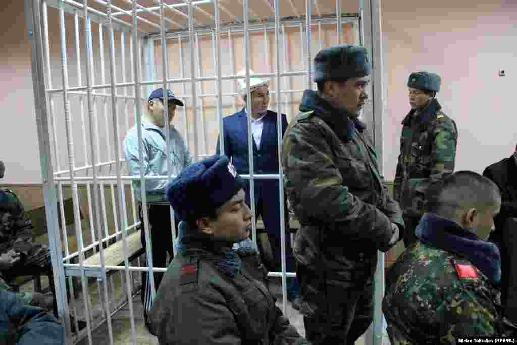 Сот процесси 14-ноябрда, Бишкектин Биринчи май райондук сотунда өттү