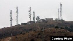 Unkur-Too dağında televiziya qüllələri