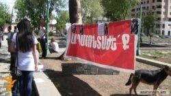 Մաշտոցի այգու 10-ից ավելի ակտիվիստներ դիմել են բժշկի