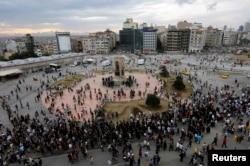 Площадь Таксим 12 июня 2013 г.