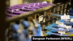 Cabluri aparținând companiei de telecomunicații din Bulgaria