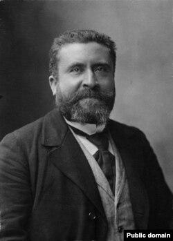 Jean Jaurès, lider socialist francez.