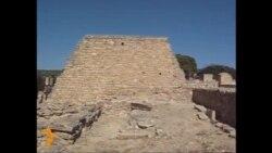 Руіны палацу ў Кносасе