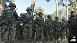 آرشیف، نیروهای افغان در بادغیس