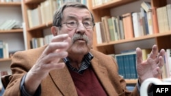 German novelist Gunter Grass