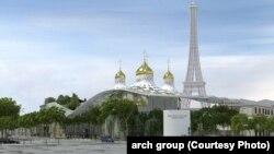 Projekti i Qendrës Kulturore dhe Shpirtërore Ortodokse Ruse në Paris.