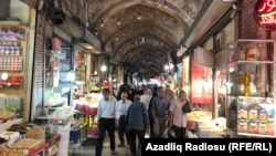 The Bazaar in Tabriz, northwestern Iran. July 2018.
