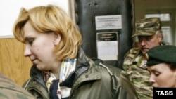 Светлана Бахмина три с лишним года назад, после вынесения ей окончательного приговора.