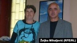 Jozo Baković sa suprugom na livanjskoj izložbi sira
