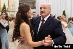 Александр Лукашенко и Мисс Беларусь 2018