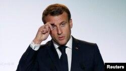 Президентът на Франция Еманюел Макрон