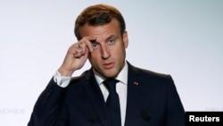 Франциянын президенти Эммануэль Макрон