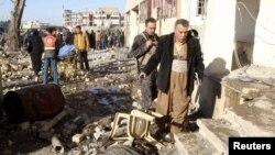Архивска фотографија. Бомбашки напад во Киркук.