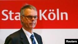 Shefi i policisë në Këln Wolfgang Albers