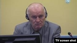 Ратко Младич у суді, Гаага, 15 квітня 2014 року